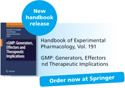 Order now at Srpinger: cGMP: Generators, Effectors and Therapeutic Implications